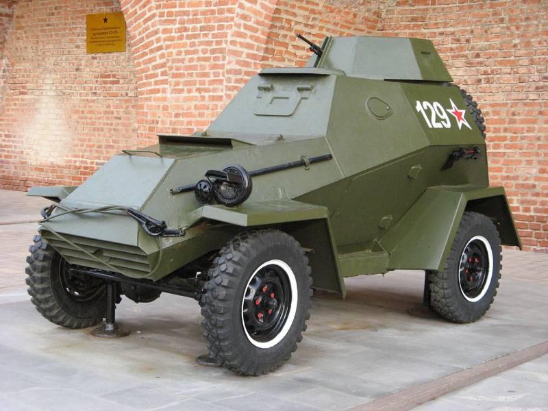 БА-64: первый советский полноприводный бронеавтомобиль