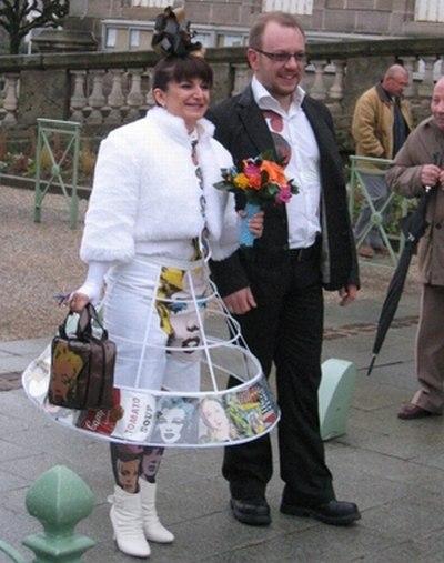 И это свадебные платья?