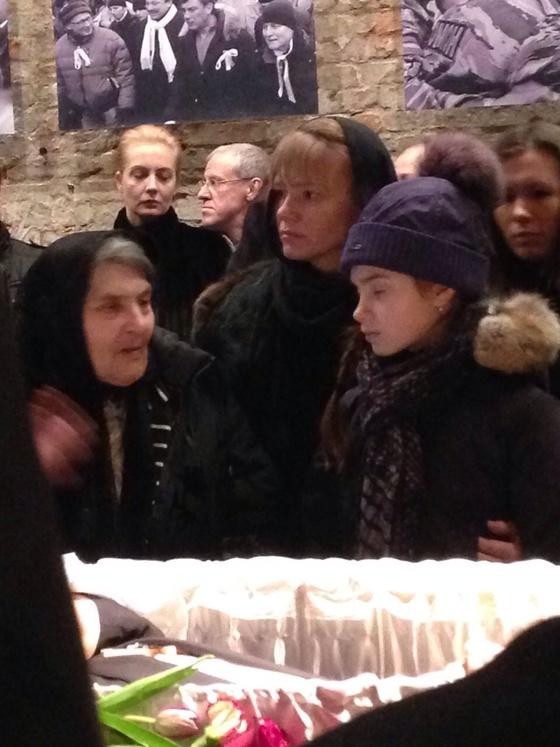 Гражданскую панихиду по Борису Немцову посетила Юлия Навальная