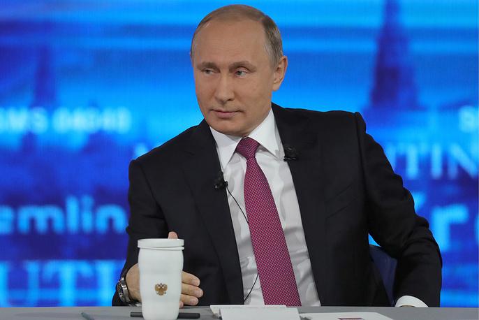 """""""Все будет хорошо"""": самые яркие цитаты Путина во время """"Прямой линии"""""""