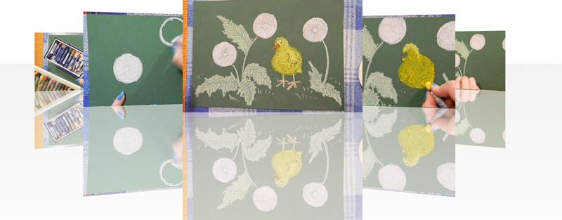 Скачайте уроки по нетрадиционным техникам рисования для детей