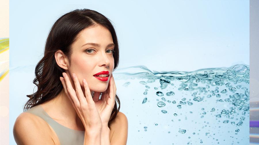 Влажный макияж
