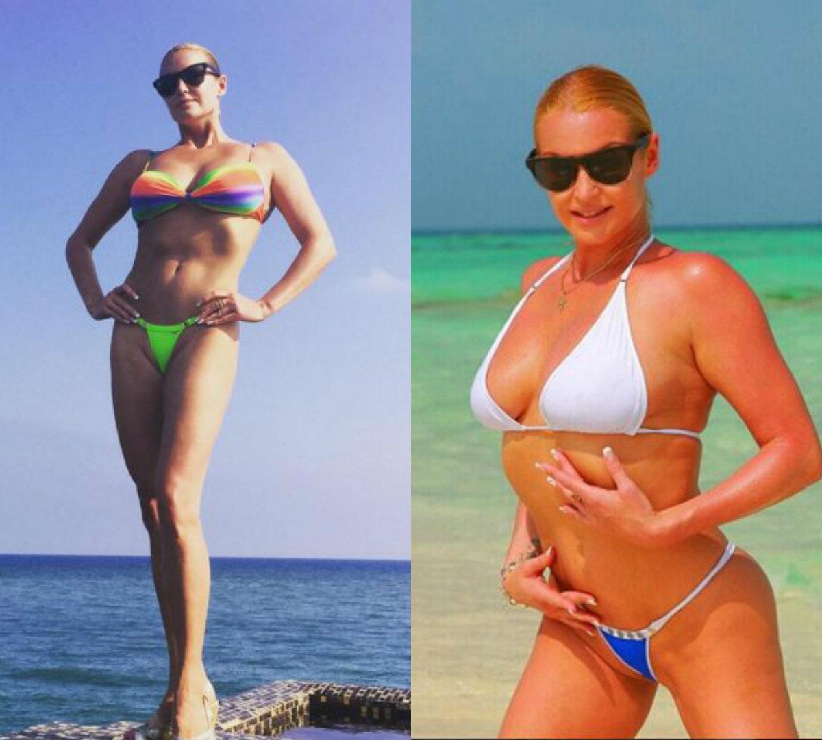 Фото зрелых женщин в купальниках на пляже 7 фотография
