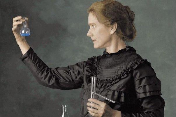 Радиоактивные вещи Марии Кюри