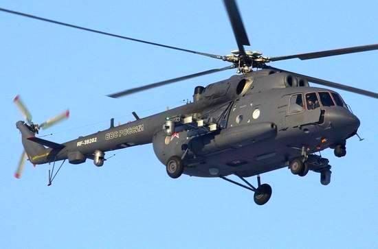 Новейшие российские вертолеты РЭБ переброшены в Сирию