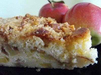 Мокрый яблочный пирог от Шулы Модан