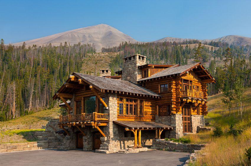 Самый дорогой деревянный дом