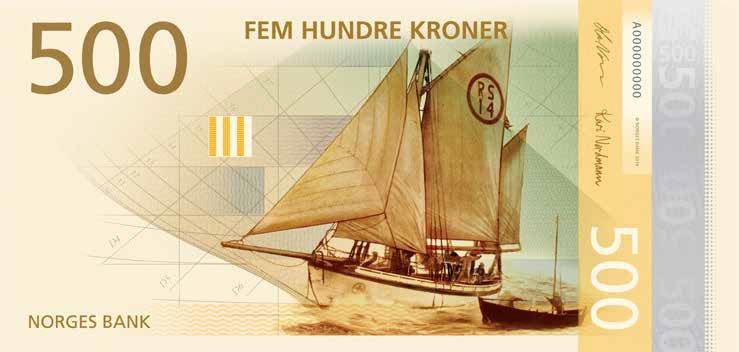 новые норвежские банкноты 14