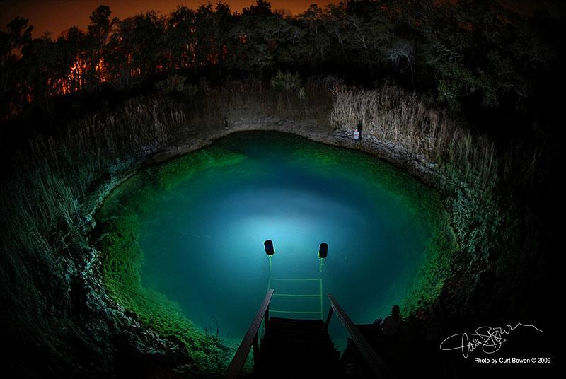 3100 Удивительные подводные пещеры