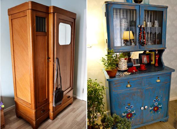 креативное обнлвдение старой мебели резкие изменения отдельных