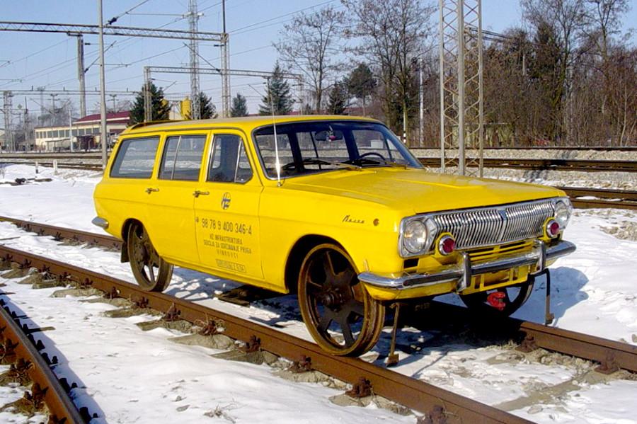 Автомобили на рельсах