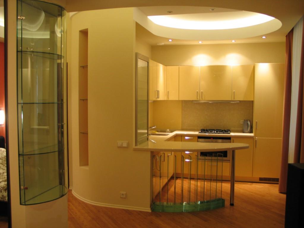 Кухня-студия в хрущевке