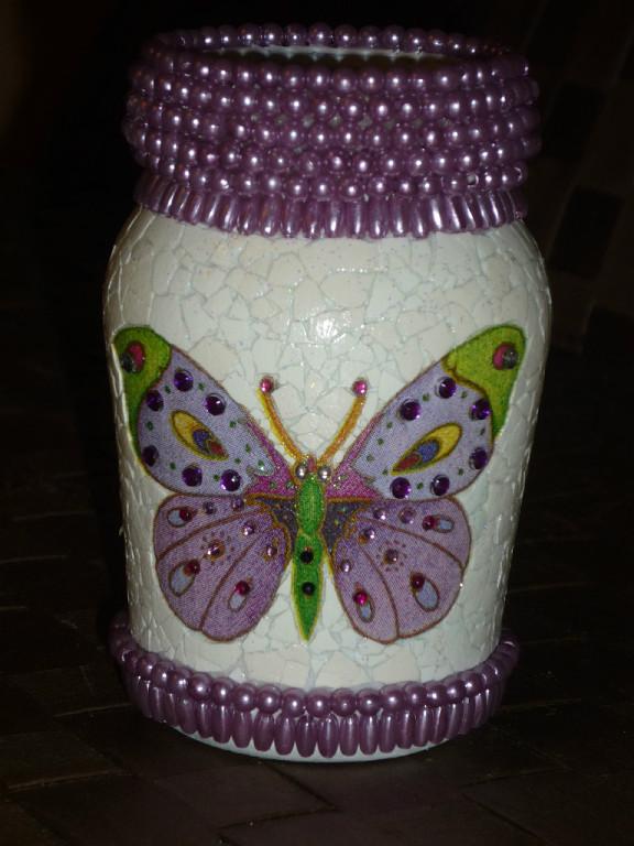 Отделка вазы своими руками фото 223