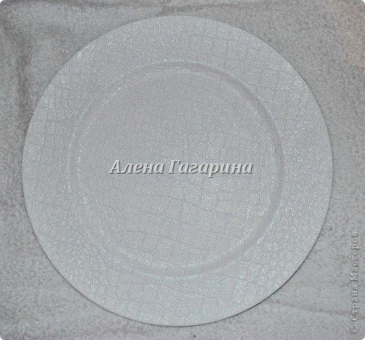 Декор предметов Мастер-класс Декупаж Тарелка Фламенко Бумага фото 3
