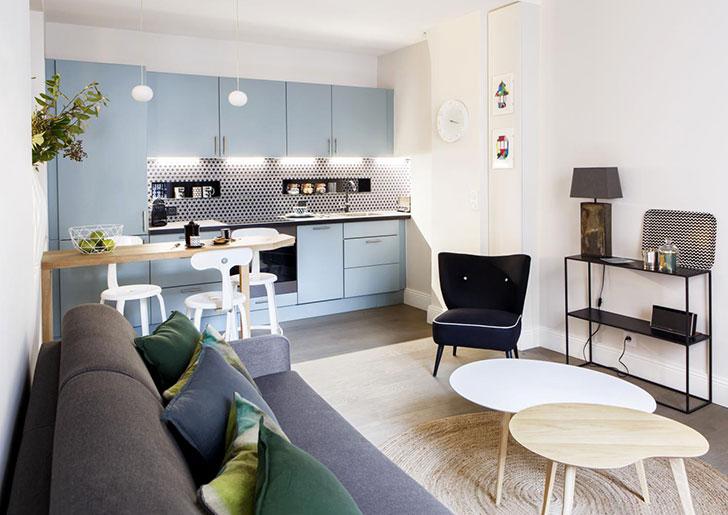 Симпатичная квартирка в Латинском квартале в Париже