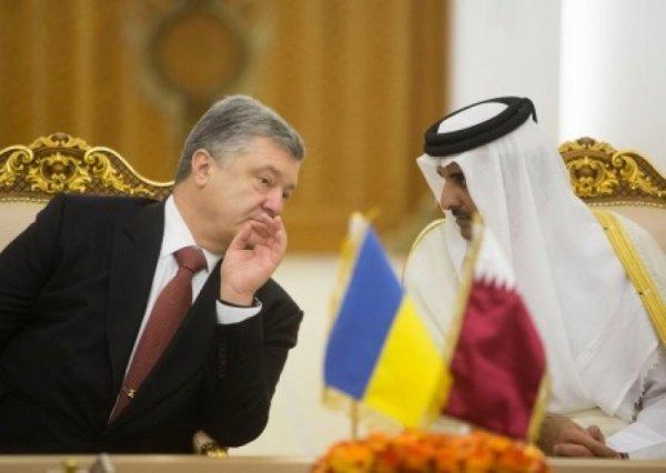 Порошенко лоббирует интересы арабских шейхов. Во сколько обойдется украинцам катарский газ?