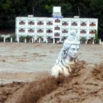 Ущерб от наводнения на юге И…
