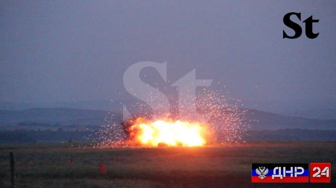 В ДНР испытали новый тип боеприпаса (ФОТО)