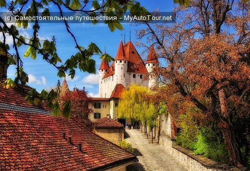 Грац, замок Шлоссберг