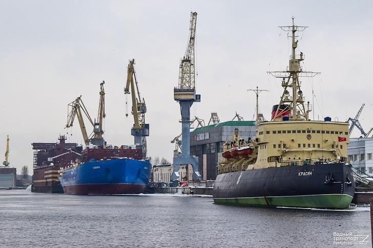 Строительство атомного ледокола «Сибирь»