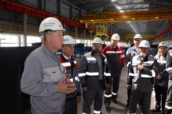 ВгАЗ завершил строительство объектов к запуску производства анодов