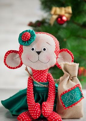 Обезьянка своими руками на новый год