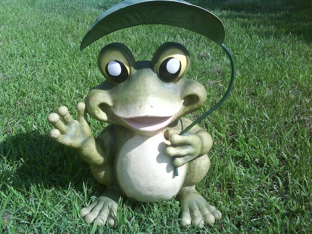 Как сделать лягушку из гипса для сада своими руками фото