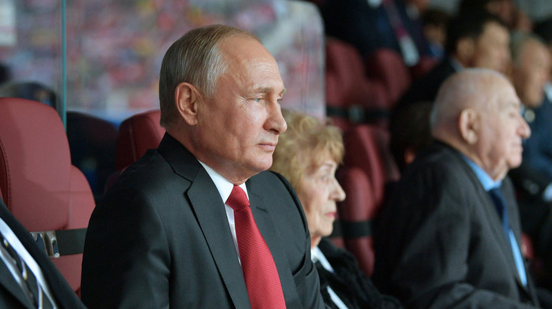 Владимир Путин: «Мы можем гордиться нашим тренером, нашей командой»