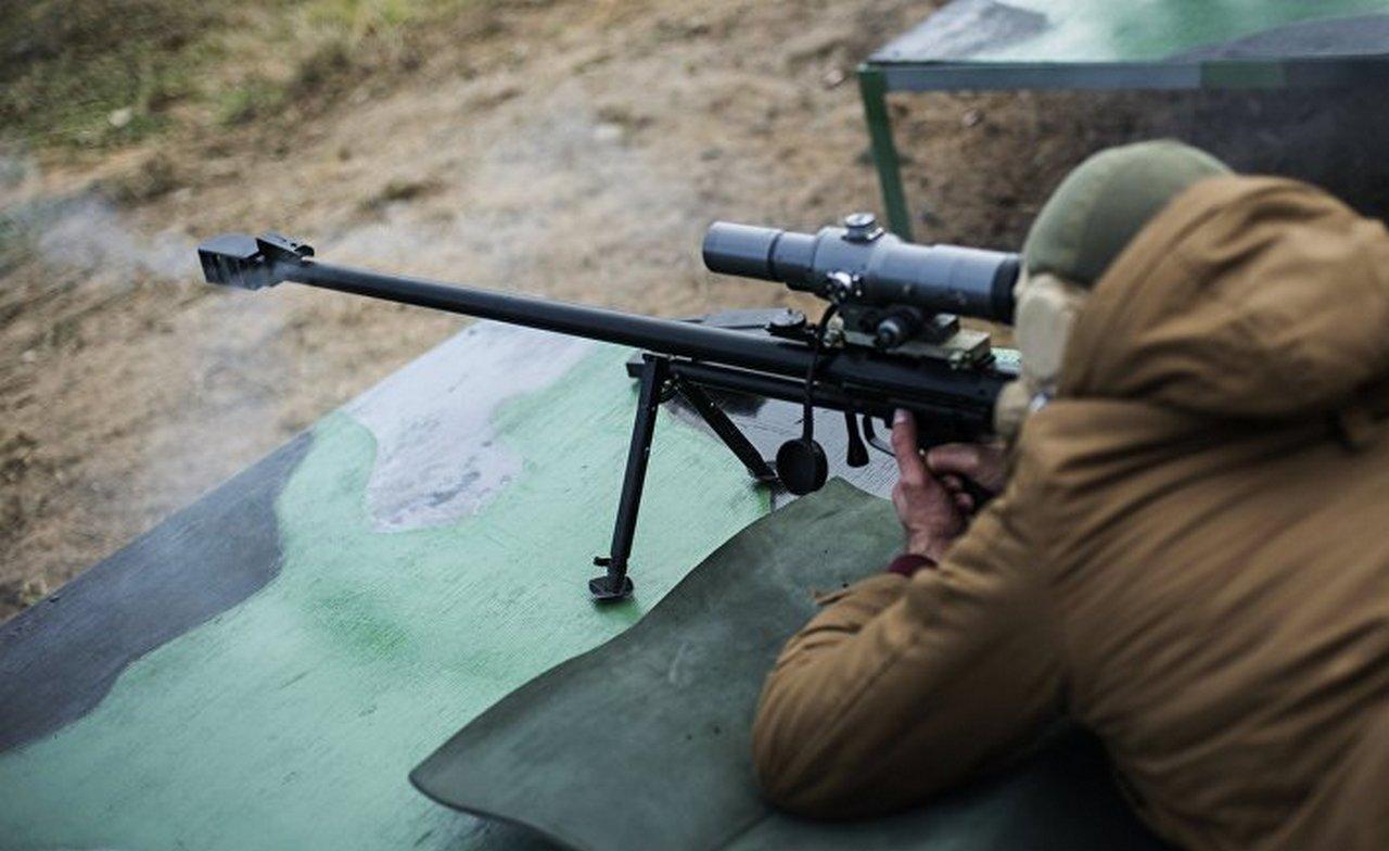 У российских снайперов есть винтовки и боеприпасы, способные пробивать американские бронежилеты
