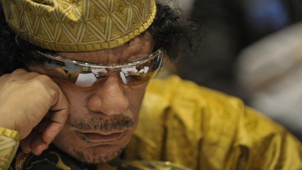 Каддафи перед смертью предсказал будущее для Украины, Беларуси и России