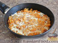 Фото приготовления рецепта: Спагетти в тыквенном соусе с беконом - шаг №12