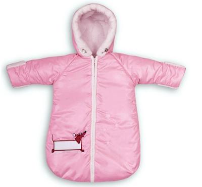 Шьем мешок-комбинезон для грудничка.  Главное, чтобы малышу было тепло и комфортно во время его ежедневных прогулок!