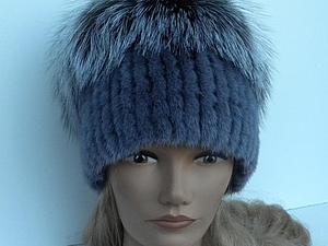 Как сшить меховую шапку методом нашивки меховых полосок | Ярмарка Мастеров - ручная работа, handmade