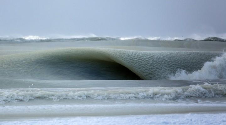 Замерзшие волны Атлантики