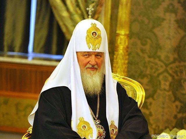 Патриарх Кирилл уверен в пользе антироссийских санкций