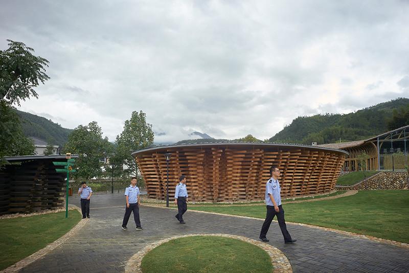Международная выставка бамбуковой архитектуры в Китае