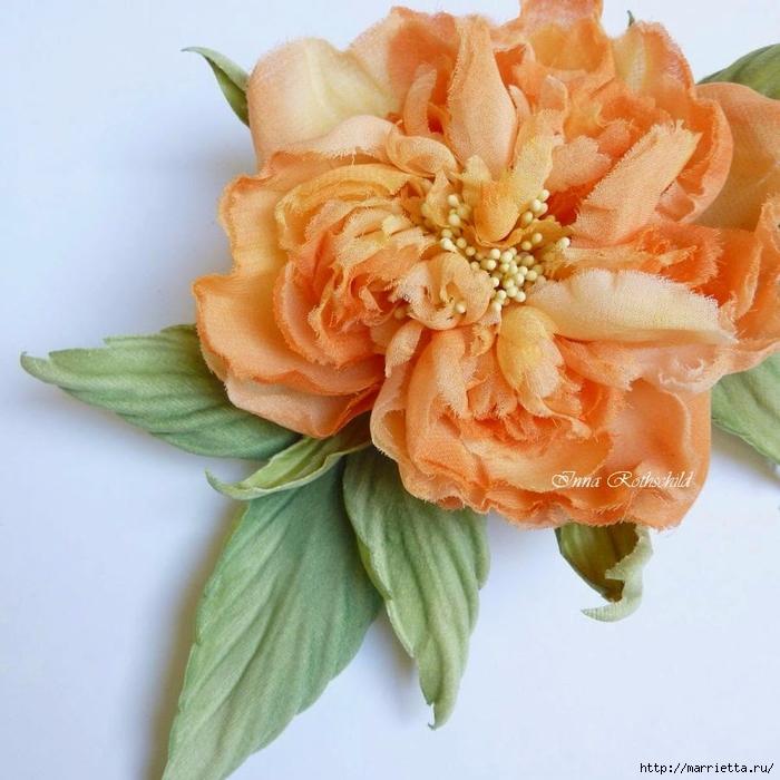 Цветы из шелка от Inna Rothschild (16) (700x700, 298Kb)