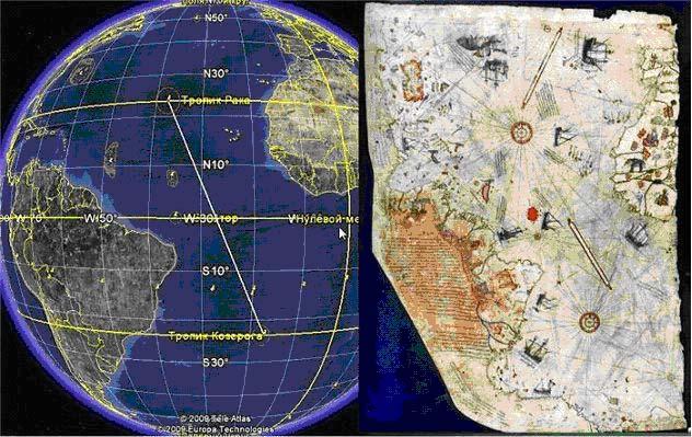 Древняя карта переписывает историю Земли.