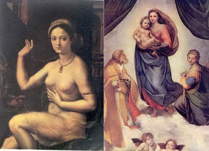 На полотне Мадонна, а в жизни - куртизанка: кем на самом деле была муза Рафаэля?