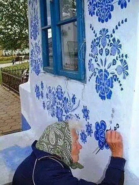 Добрые рисунки бабушки Анны