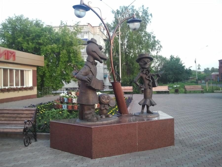 217 Крокодил Гена, Чебурашка, старуха Шапокляк и крыса Лариса (Прокопьевск)