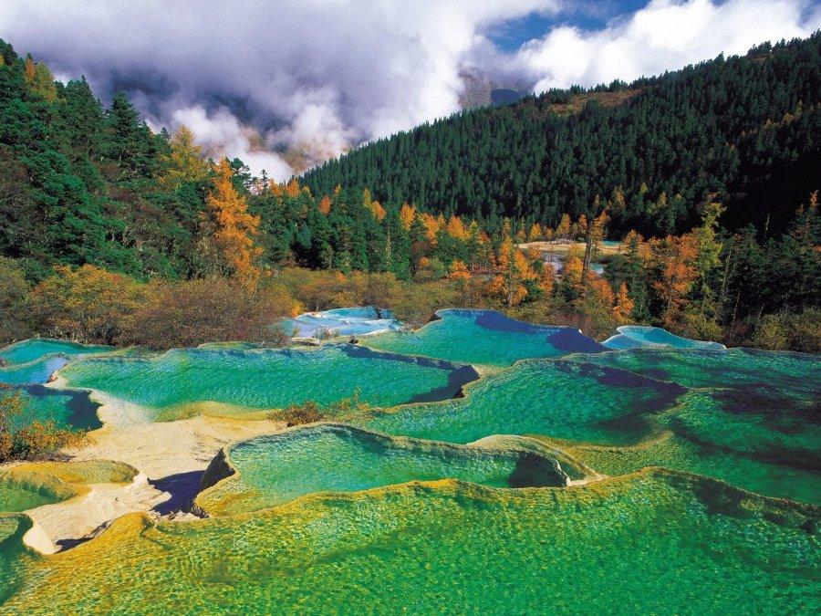"""Китайская сказка - долина """"Жёлтый дракон"""""""