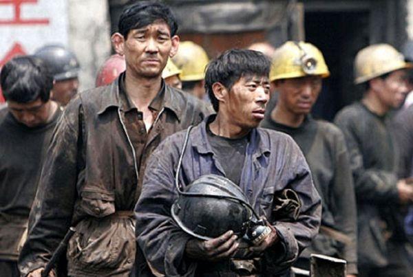 Пожар нашахте вКитае заблокировал под землей более 20 горняков