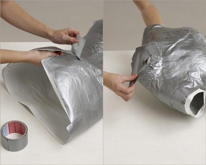 Как сделать манекен из ткани