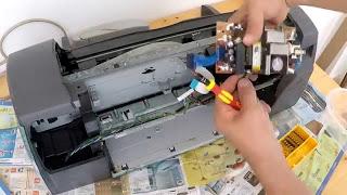 Что можно сделать из старого принтера (Полезные запчасти)