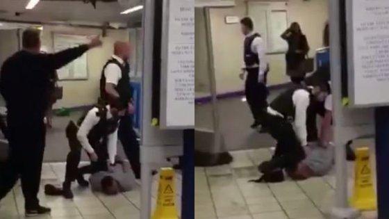 Новая тактика ИГ? Террорист с мачете резал горло пассажирам лондонского метро