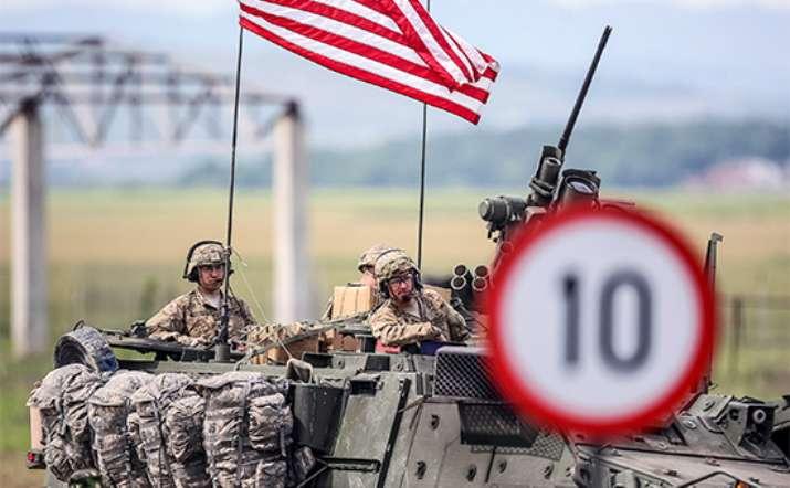 Спутник зафиксировал большую колонну военной техники США, вошедшую в Сирию (ФОТО)