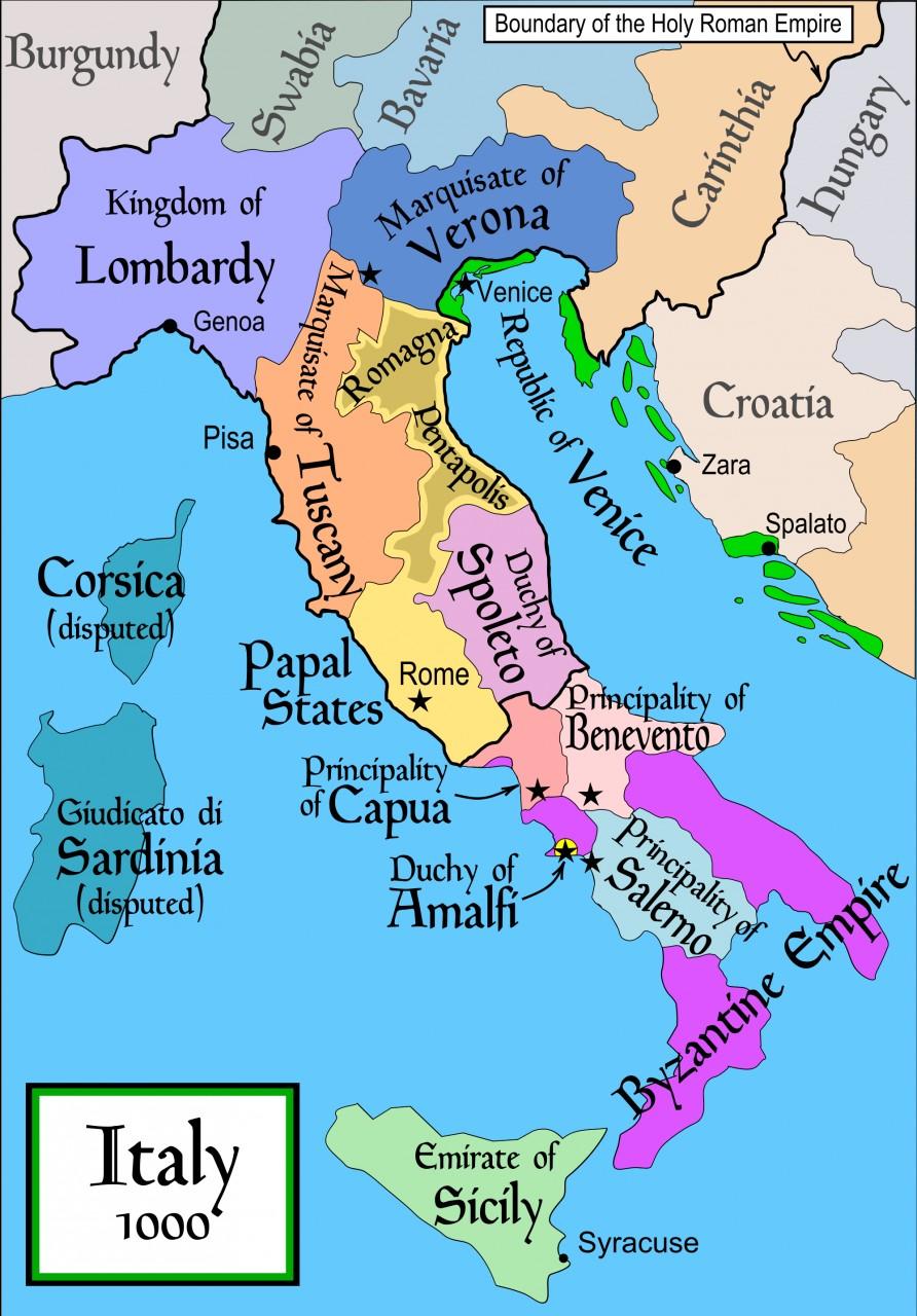 Трианкрия: путь с Мэна на Сицилию