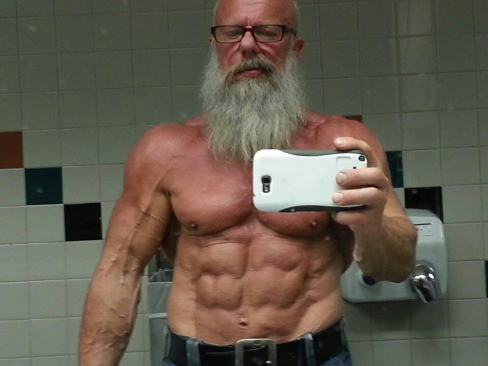 03. Андреас Кахлинг (на фото 62 года). бодибилдинг, жизнь, спорт, старость