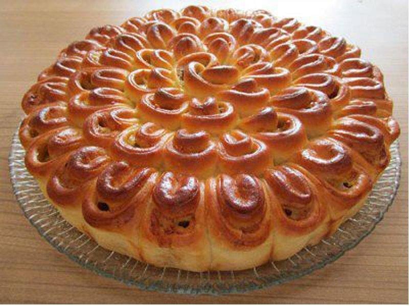 Красивые и вкусные пироги из дрожжевого теста